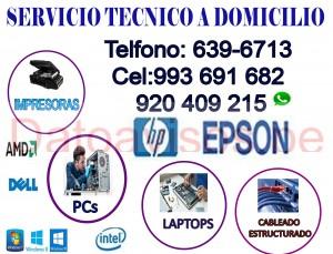 reparación de computadoras y laptops (993691682) soporte técnico a domicilio
