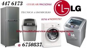 servicio tecnico lavadora secadoras lg  6750837