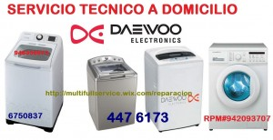 servicio tecncio daewoo lavadoras secadoras 6750837 en lima