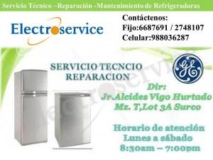 servicio técnico de refrigeradoras general electric lima