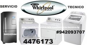 servicio tecnico  whirlpool lavadoras secadora 4476173