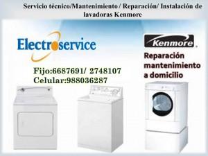 servicio t�cnico mantenimiento   de lavadoras  secadoras kenmore 66876