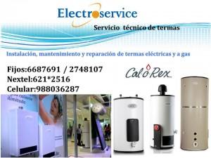 servicio t�cnico reparacion de termas calorex*a gas 988036287  electri