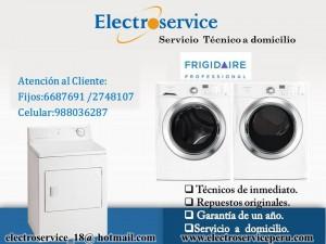 servicio tecnico de electrodomesticos frigidaire en lima metropolitana