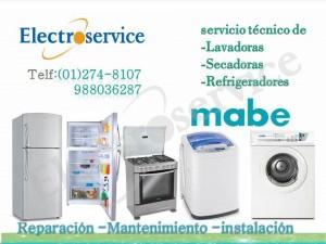 **2748107**  refrigeradoras  mabe - mantenimiento - lima servicio tecn