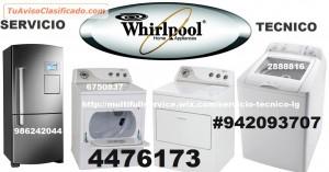 servicio tecnico whirlpool de laavadora secadora en lima