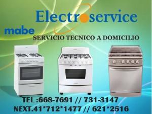 servicio t�cnico especializado de lavadoras mabe tlf: 6687691