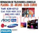 reparación de televisores (920-409-215) samsung y lg a domicilio san borja, san luis