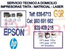 servicio a domicilio (993-691-682) de mantenimiento de impresoras epson y hp san luis, san borja