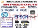 técnicos de impresoras epson y hp (993-691-682) a domicilio reparación