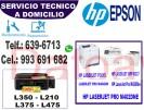 servicio de reparacion de impresoras epson y hp (993691682) a domicilio